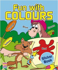 Fun With Colors Sticker Books