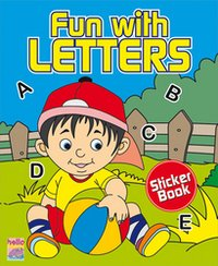 Fun With Letters Sticker Books