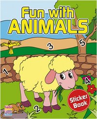 Fun With Animals Sticker Book