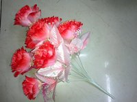 12H Pink Rose Bunch Artificial Flower