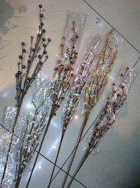5H Beads Stick Artificial Flower