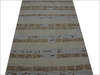Arv Beige Hand Tufted Woolen Carpet