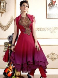 Red Salwar Kameez
