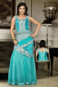 Enriched With Contrasting Lehenga Choli