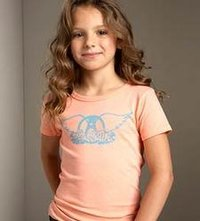 Kids T-Shirt In Pastel Colours