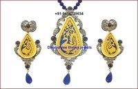 Designer Victorian Pendant Set