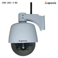 PTZ Infrared Wifi Web Security Surveillance IP Camera (APM-H901-Z-WS)