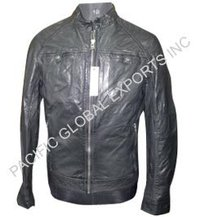 Goat Glaised Veg Leather Jackets