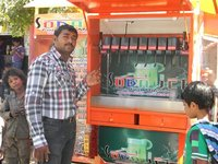 Mobile Soda Shop Machine