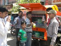 Automatic Mobile Soda Shop