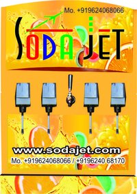 Automatic Softdrink Fountain Machine