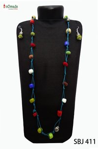 Color Beads Necklace