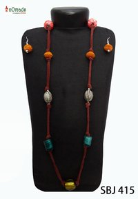 Leather String Necklace