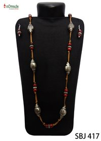 Designer Wooden Beads Necklace