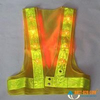 Yellow PVC Reflective Jacket
