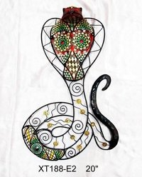 Metal Snake Decoration For Wall Decor