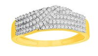 Ladies Diamond Rings (0.50 Ct Real Diamonds)