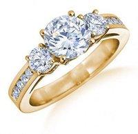 0.80 Ct Solitaire Ladies Diamond Rings
