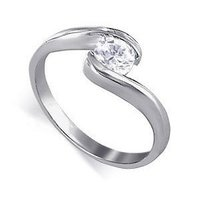 0.20 Ct Solitaire Ladies Diamond Ring
