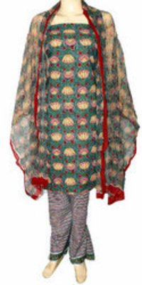 Cotton Block Print Salwar Kameez