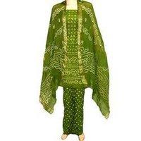 Bandhani Bohemian Glace Cotton Salwar Suit