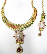 Antique Kundan Billore Necklace Set