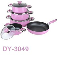 9pcs Aluminum Cookware Set