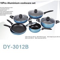 10 Pcs Aluminum Cookware Set