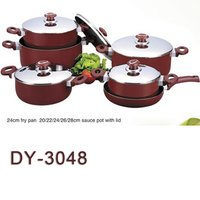 11pcs Aluminum Cookware Set