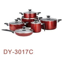 12pcs Aluminum Cookware Set