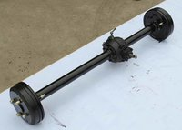 Old Type Tricycle Axle