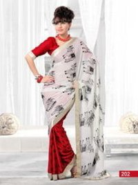 Designer Bridal Embroidered Sarees