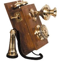 Antique Wooden Telephones