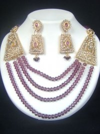 Designer Rajwadi Necklace Set