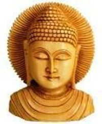 Wooden Budha Brust 