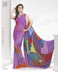 New Digital Printed Sarees