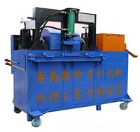 Scaffold Steel Tube Straightening And Rust Removing Machine