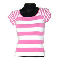 Round Neck Stripe T-Shirts