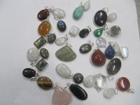 Single Stone Pendants