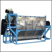 Turbo And Centrifugal Sieve Machine