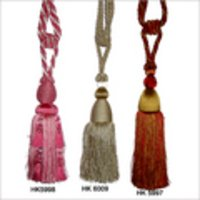 Hand Embroidered Tassels