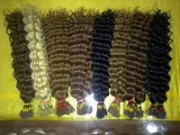 Machine Weft Double Hairs