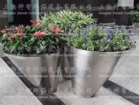Stainless Steel Flowerpot