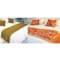 Silk And Cotton Bed Runners