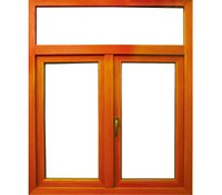 Aluminum Wooden Hinged Windows