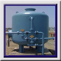 Industrial Pressure Sand Filter