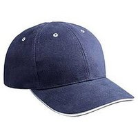 Base Ball Cap With Sandwich Visor