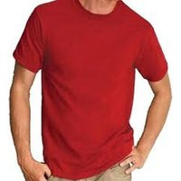 Round Neck Cotton T-Shirt