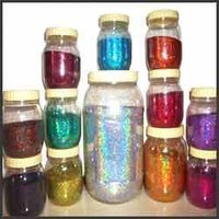 Polyester Glitter Plain