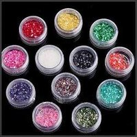 Rain Bow Glitter Powder